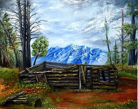 Mountian Cabin by Lance James