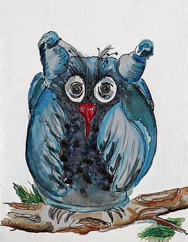 Mr. Blue Owl by Carrie  Godwin