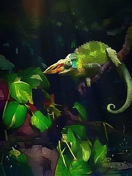Mr. H.C. Chameleon Esquire by Sharon Jones