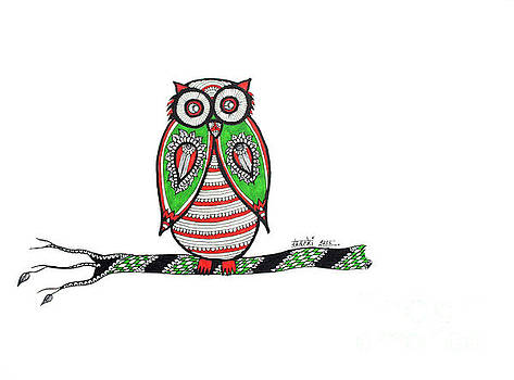 Mr. owl  by Shachi Srivastava