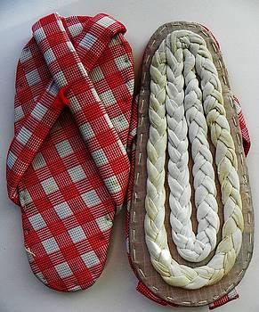 Mrs. Nishi's Handmade Slippers by Joseph Frank Baraba