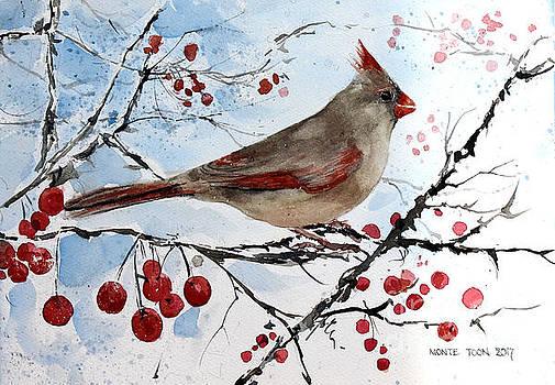Mrs Red Bird by Monte Toon