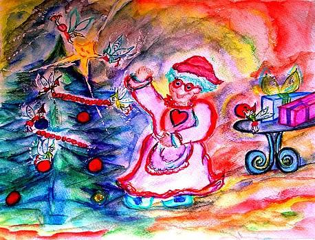 Mrs. Santa Claus by Helena Bebirian