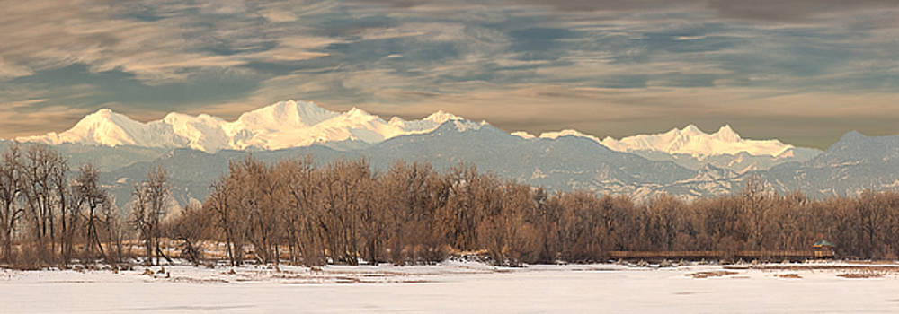 Mt Evans by Lois Lake