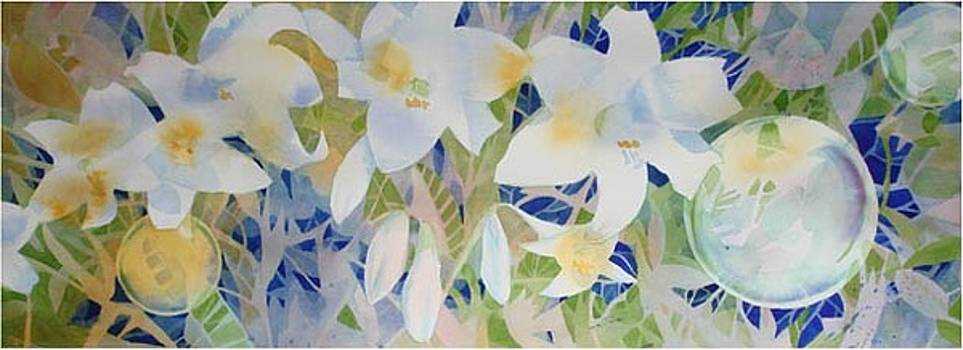 Mt Lofty Lilies Australia series by Lynn Millar