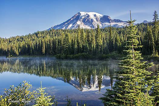 Mt Rainier Reflection by Daniel Ryan