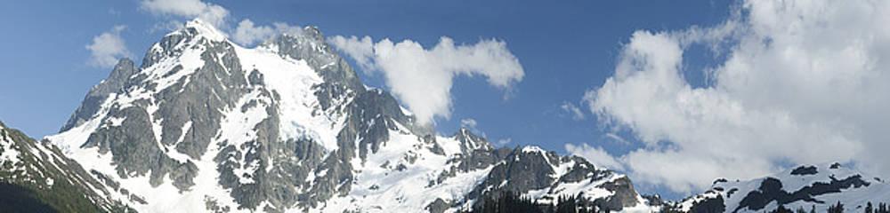 Mt Shuksan by Larry Darnell