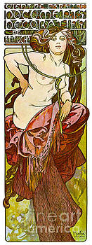 Mucha Exhibition Promo 1901 by Padre Art