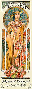 Mucha Label 1894 by Padre Art