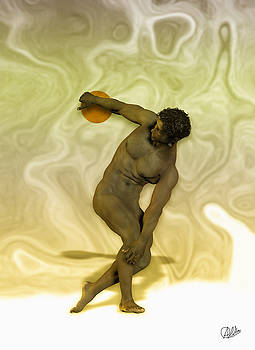 Criolle Discus Thrower by Quim Abella