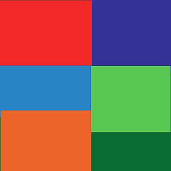 Kate Farrant - Multi color squares
