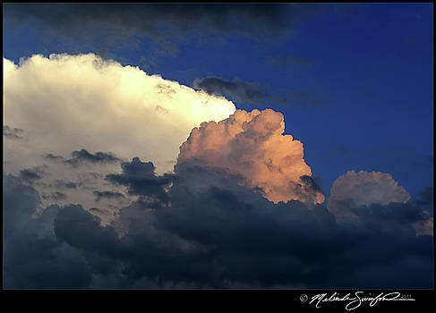 Multicolored Cumulus by Melinda Swinford