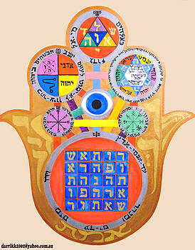 Multiple Solomaic Amulets by Darren Stein