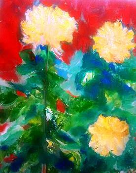 Patricia Taylor - Mums on Red