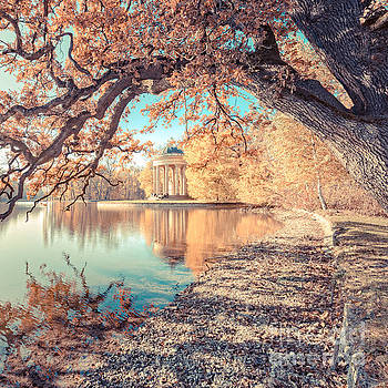 Munich at fall by Hannes Cmarits