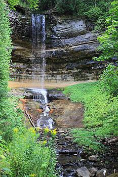 Munising Falls by Mark  France