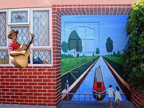 MURAL - I Can Live Anywhere by Davinia Hart