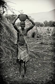 Mursi Tribal Woman by Nichon Thorstrom