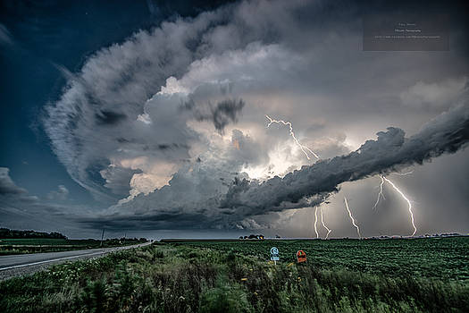 Muscatine County Supercell by Paul Brooks