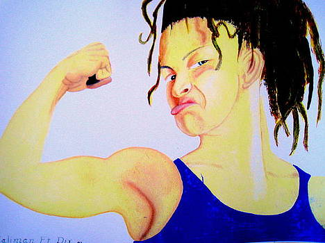 Muscle Girl by Roger Golden