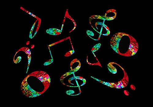 Music notes by John Stuart Webbstock