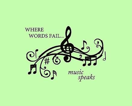 Music Speaks by Marilyn Peterson