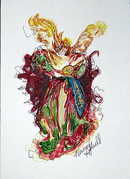 Musical Angel by Michele Hollister - for Nancy Asbell