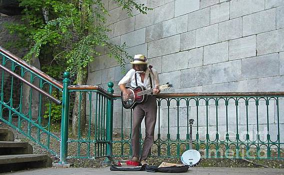 John Malone - Musician in the Street
