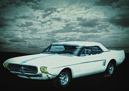 Mustang II Concept 1963 by Chas Sinklier