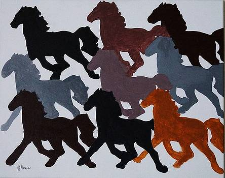 Mustang by Joseph Frank Baraba