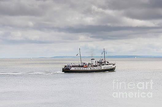Steve Purnell - MV Balmoral In The Bristol Channel