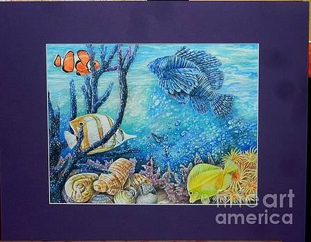 My Aquarium by Jean Wilcox