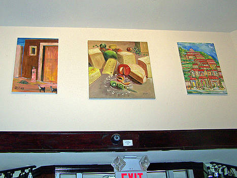 Patricia Taylor - My Art Above the Doorway