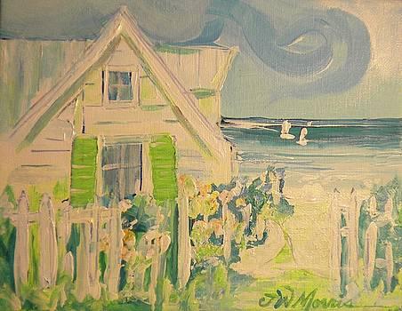 My Beach Cottage at Siesta Key by Jill Morris