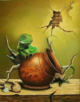 My Best pot by Pravin  Sen