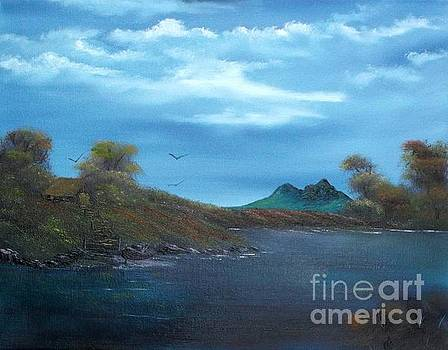 My Blue Heaven by Cynthia Adams