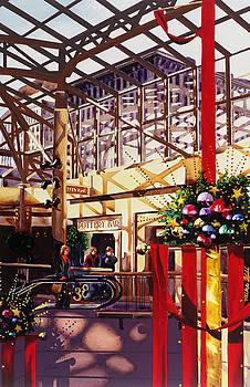 My Gouache Christmas Already by Mike Hill