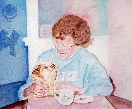 My Mother and Teddy by Nancy Pratt