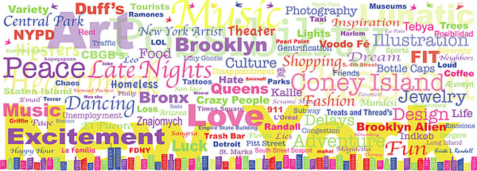 My New York in Words by Kristi L Randall