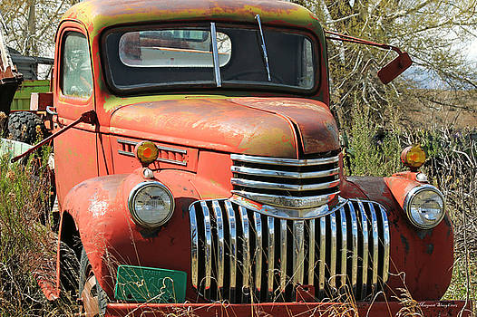 My Old Truck by Margaret  Slaugh
