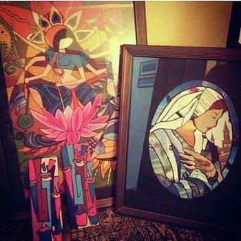 My Paintings.. Sold  #art #artistmony by Eman Allam