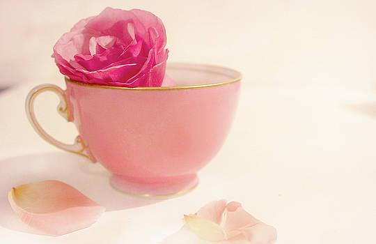 My Pink Teacup by Margaret Hormann Bfa