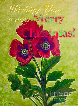 My Poppy Love at Christmastime by Kimberlee Baxter