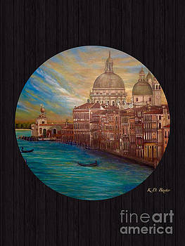 My Recollection of Venice in the Round II by Kimberlee Baxter