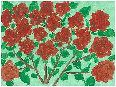 My Roses by Rosemary Mazzulla
