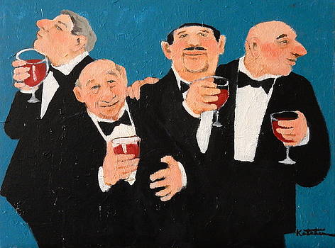 My Secret to Happiness? Cabernet Sauvignon by Carole Katchen