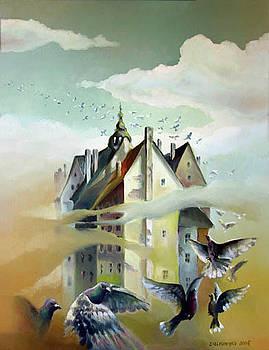 My silent city by Gregor Ziolkowski