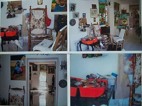 My Studio In Haiti by Nicole Jean-Louis