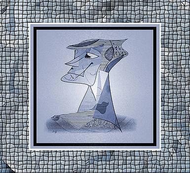 My Version of Picasso #2 by Iris Gelbart