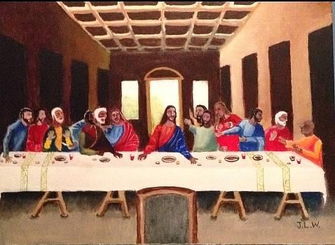 J.L.W. The Last Supper by Justin Lee Williams